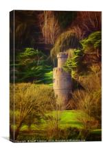 The Watchtower, Canvas Print