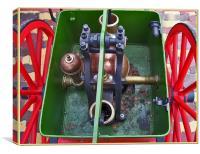 The Pump Engine - 1920, Canvas Print