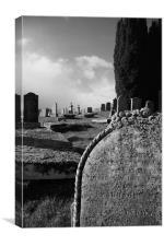 Graveyard, Canvas Print