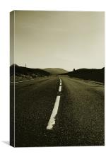 road, Canvas Print