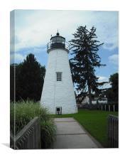 Havre de Grace, MD Lighthouse, Canvas Print