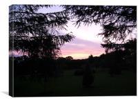 North Yorkshire at dusk