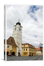 Hermannstadt 3, Canvas Print