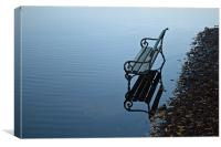 bench on water