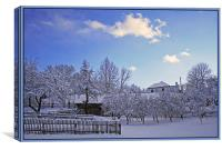 Winter Rime, Canvas Print