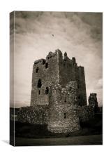Threave Castle, Scotland, Canvas Print