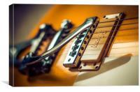 Gibson Les Paul Guitar, Canvas Print