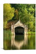 Tranquil Boathouse, Burghley House