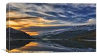 Sunset On Loch Long