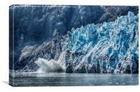 Crumbling Glacier, Canvas Print