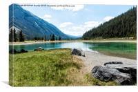 Wild Alaskan Lakes, Canvas Print