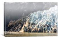 Glacier Bay Alaska, Canvas Print