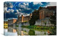 Leeds Castle, Canvas Print