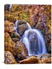 Lodore Falls Cumbria, Canvas Print