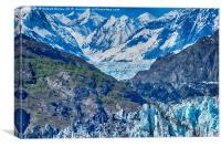 Alaskan Glaciers, Canvas Print