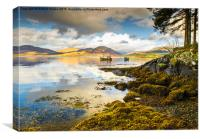 Loch Creran Scotland, Canvas Print