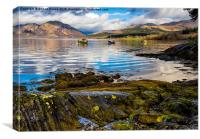 Scottish Loch Creran, Canvas Print