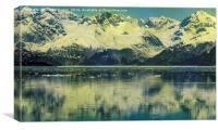 Skagway Alaska, Canvas Print