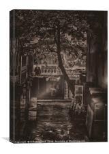 The Smoker, Canvas Print