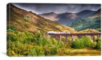 Glen Finnan Viaduct, Canvas Print