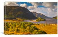Loch Shiel Scotland, Canvas Print