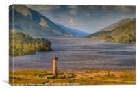 Glenfinnan Monument Scotland , Canvas Print