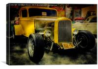1932 Ford Hot Rod, Canvas Print