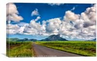 Corps De Guard Mountain, Mauritius, Canvas Print
