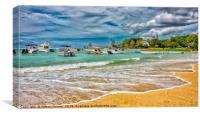 Mauritius Flic en Flac, Canvas Print