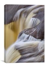 Michigan Waterfall Detail, Canvas Print