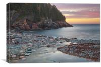Sunrise At Hunters Beach, Canvas Print