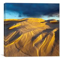 Dune And Squall, Lake Michigan, Canvas Print