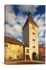 Ledererturm Gate Tower, Wels, Austria