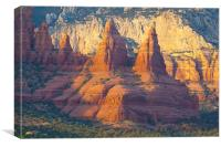 Pinnacles of Sedona, Arizona, Canvas Print
