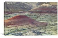 Painted Hills of Oregon, Canvas Print