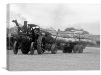 Dorset Steam Fair. , Canvas Print