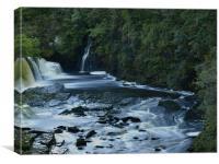 Falls of Clyde, Canvas Print