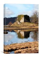 Lachlan Castle, Loch Fyne, Canvas Print