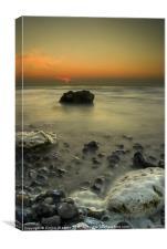 Criel Sur Mer, Canvas Print