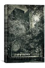 Battery Park, Canvas Print