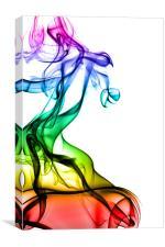 Smoke Abstract 1, Canvas Print