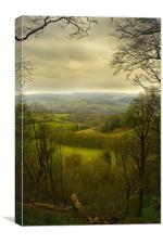 Crich, Canvas Print