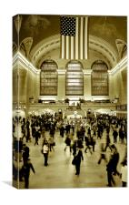 Grand Central Station, New York, Canvas Print