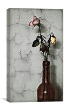 Withered Blooms, Canvas Print