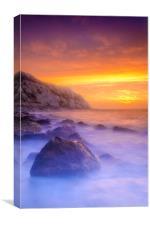 Warren Sunrise, Canvas Print