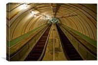 Pedestrian Tunnel, Canvas Print