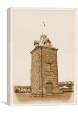 Old Clock Tower, Canvas Print