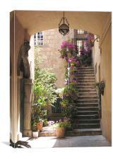 Italian Steps , Canvas Print
