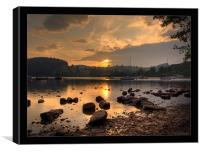 Ullswater at dusk, Canvas Print