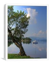 Ullswater in the morning, Canvas Print